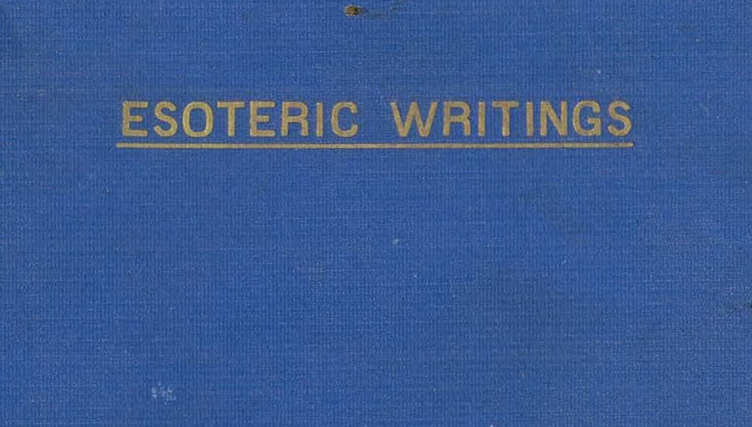 Esoteric Writings by T Subba Row ebook