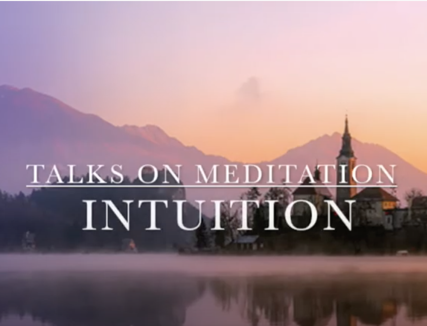 Meditaion and Intuition