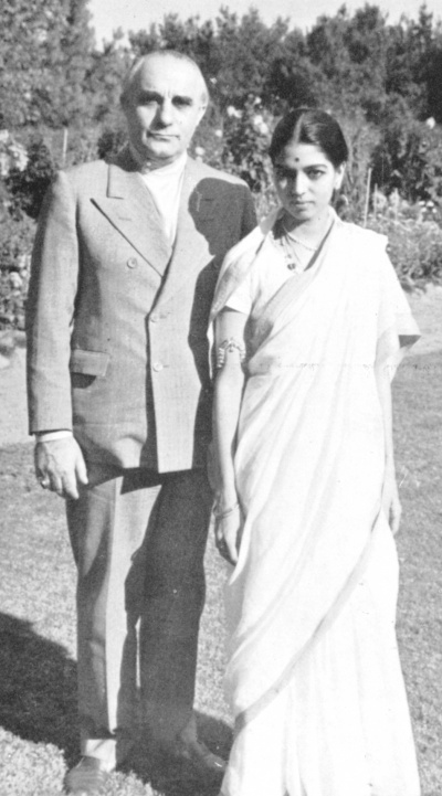 George and Rukmini Devi Arundale