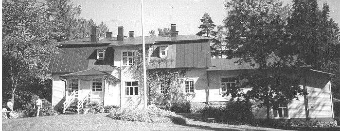 Kreivilä — Summer house of the Theosophical Society in Finland