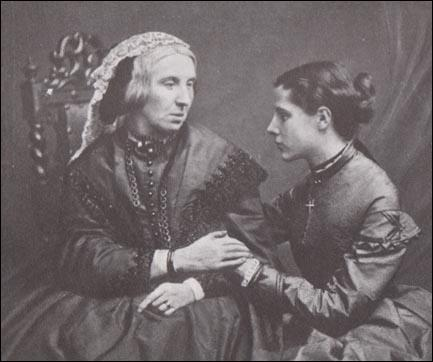 A young Annie Besant with her mother