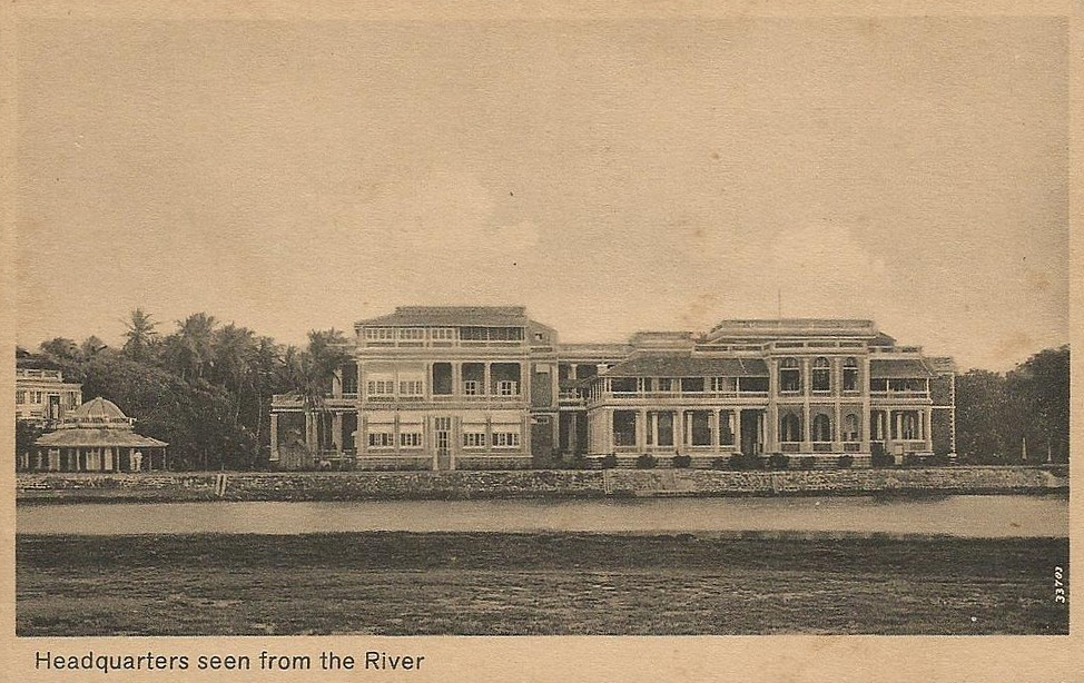 From the river
