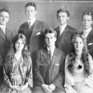 Pupils in Sydney in 1920
