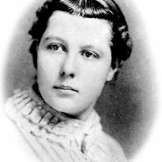 Besant as a young woman